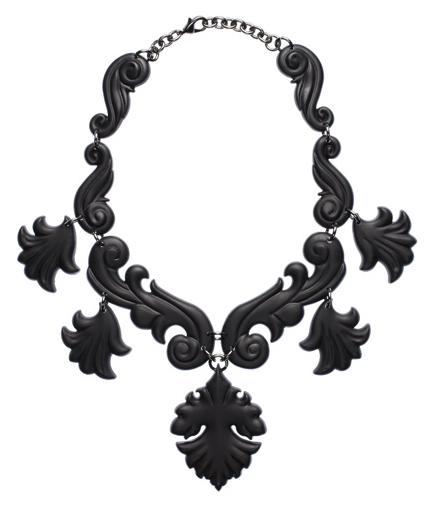 Proenza Schouler Scroll Necklace