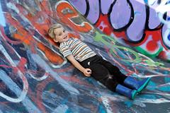 Inclined (MrHRdg) Tags: freeassociation reading graffiti caversham skateboardpark hillsmeadow
