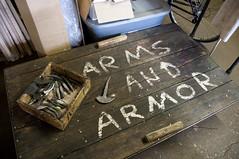 Cart (Fauxlaroid) Tags: swords armsarmor