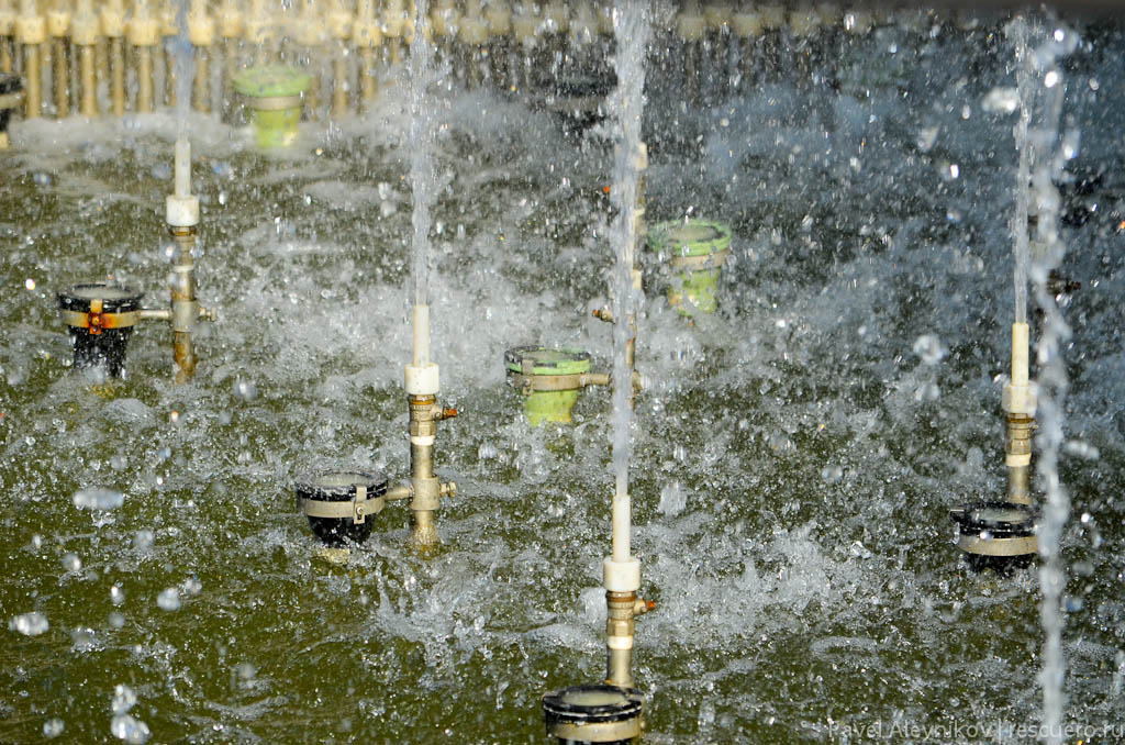 Форсунки фонтана