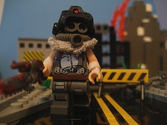 The Lone Wanderer (Da-Puma) Tags: lego metro perspective prototype chef forced society rebuilding picknik brickarms
