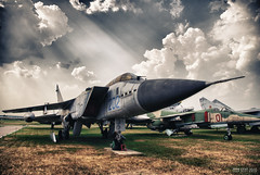 Soviet Interceptor Mikoyan MiG-31.    -31. (Peer.Gynt) Tags: touraroundtheworld sovietinterceptormikoyanmig3131