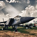 Soviet Interceptor Mikoyan MiG-31.  Советский перехватчик МиГ-31.