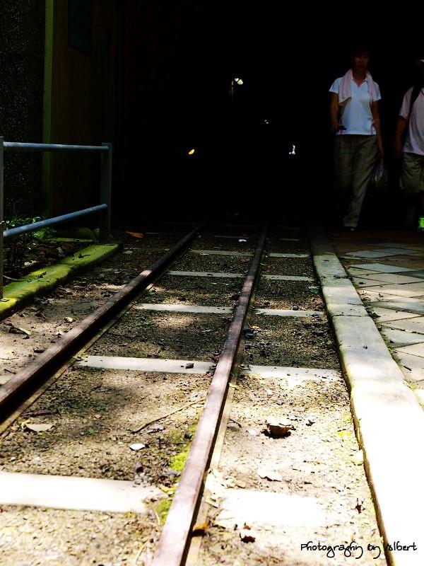 大溪.舊百吉隧道:觀光輕便軌道
