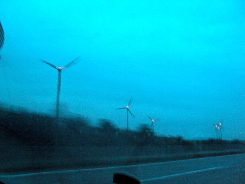 Preparation for Road trip: Budapest to Cologne, Windmills in Austria