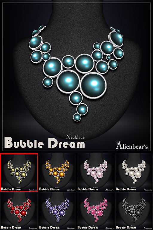 Bubble Dream necklace all