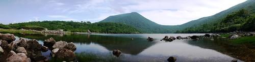 Naganuma Lake, Hokkaido, Japan