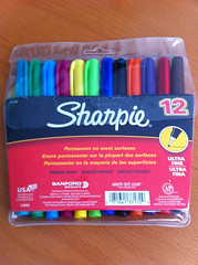 My awesome Hubby just came home with these Sharpies for me to use in my new @ErinCondren Life Planner!