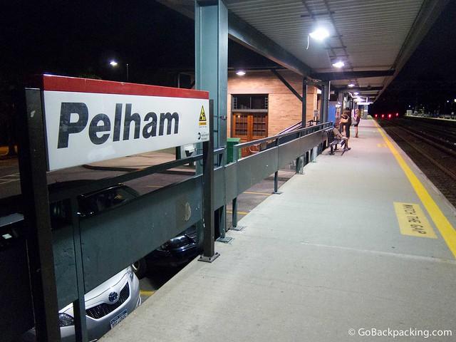 Pelham train station
