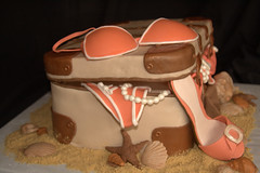 "suitcase lingerie cake • <a style=""font-size:0.8em;"" href=""http://www.flickr.com/photos/60584691@N02/6043646571/"" target=""_blank"">View on Flickr</a>"