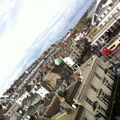 The rooftops of Brighton