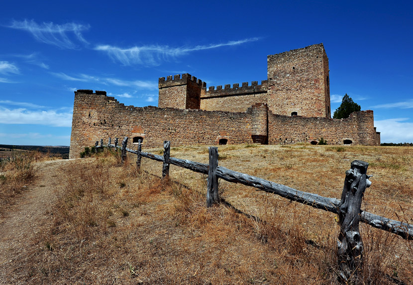 A castle of Pedraza, Spain.