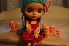 Rosie and the Kewpies... Up to No Good...