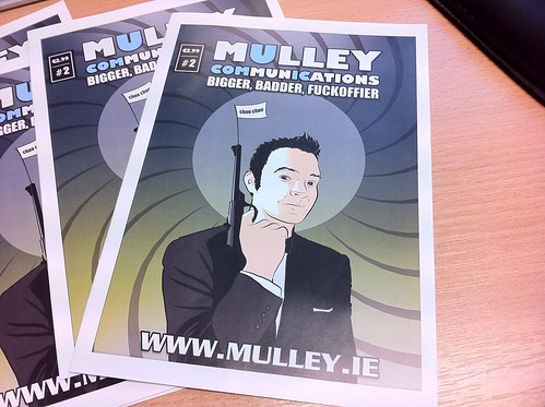 Mulley Communications comic volume 2 by blacknight