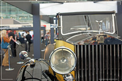Empire BIG SCREEN : Bond in Motion the cars of James Bond Exhibition - Auric Goldfinger's (Gert Frobe) 1937 Rolls Royce Phantom III from Goldfinger by Craig Grobler