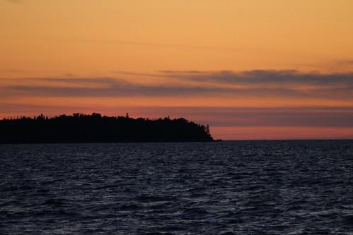 Flowerpot Island Sunset