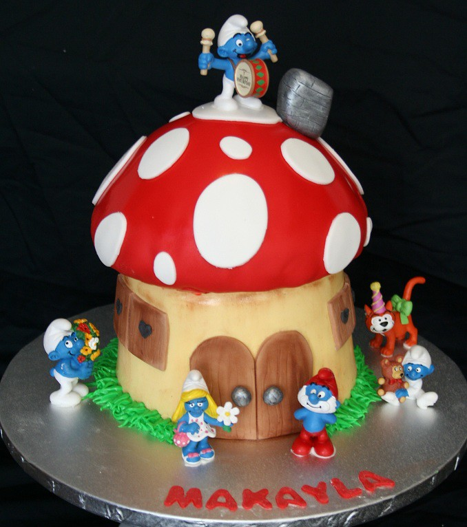 The Worlds Best Photos Of Birthdaycake And Smurfs Flickr Hive Mind