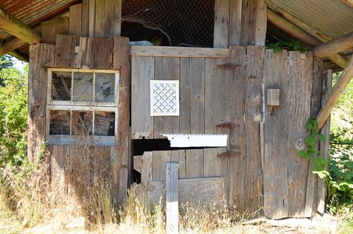 DQS11 Quilt - being a barn quilt