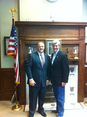 Lt. Governor Darr visit with Lt. Governor Phil Bryant