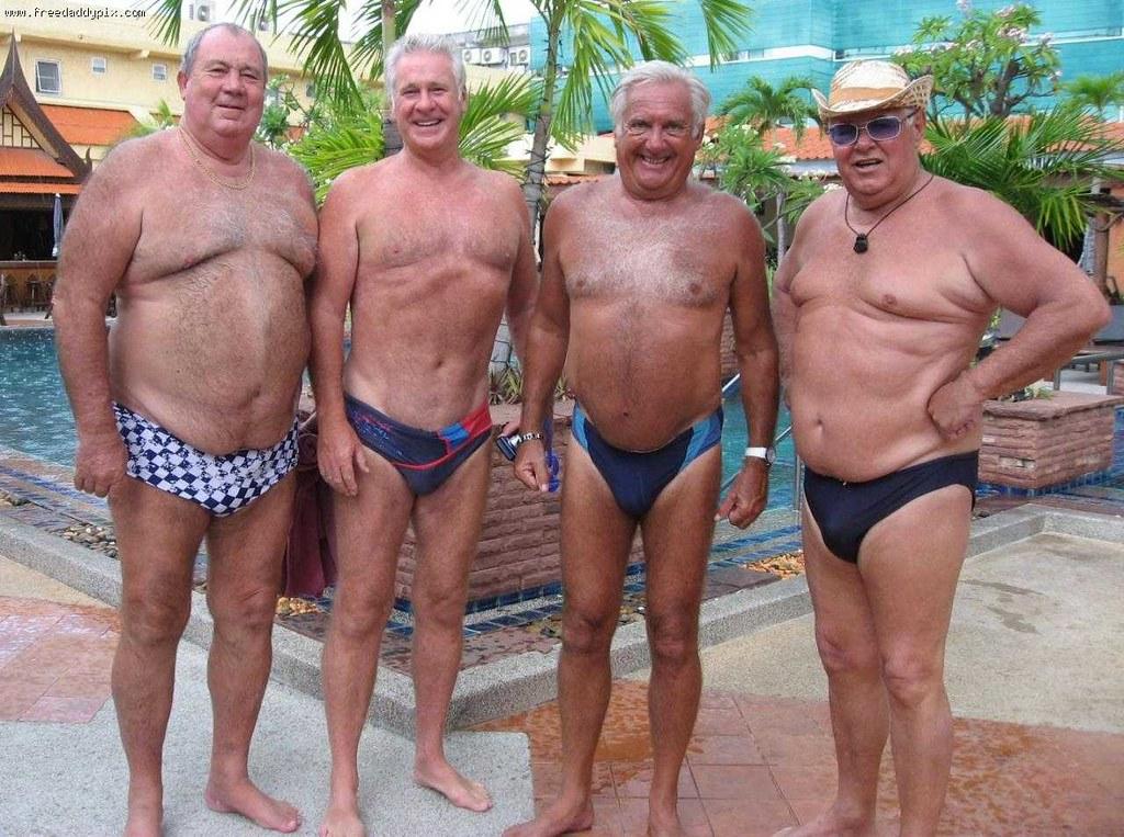 3169 (shin67) Tags: bear gay bears speedo oldmen