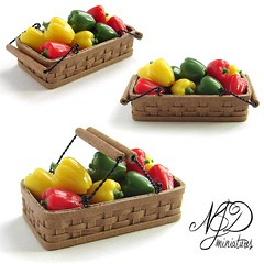 1:12 Basket of Peppers