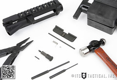 DIY AR-15 Build Ejection Port Cover and Forward Assist Installation 01