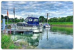 Yachthafen Kln Porz-Zndorf (Lowfloater Photography) Tags: canon germany deutschland raw cologne sigma kln nrw 1020mm rhine rhein hdr topaz cs3 yachthafen topazdenoise5