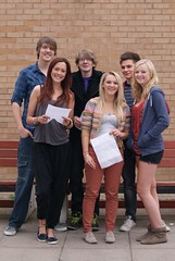 Celebrating Students 3 (Stratford-upon-Avon College) Tags: levels results a suacollege