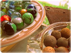 antique, vintage and clay marbles