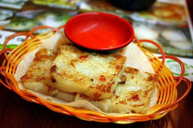 Tim Ho Wan: Pan Fried Turnip Cake