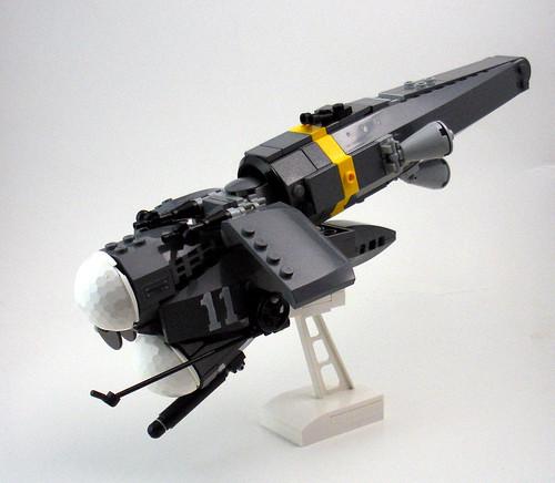 Merc starfighter: G. Melas 11