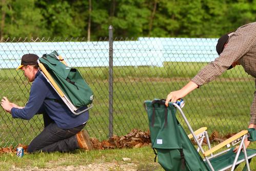 racetrack watkinsglen watkinsgleninternational sahlenssixhour backpackcampingchair