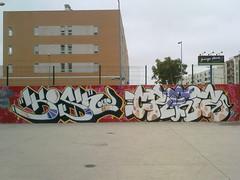 (1KosH) Tags: graffiti crew da kosher caldas rainha kosh 2011 sk8park gvs creyz koshone k0sh kosherone koshbcn