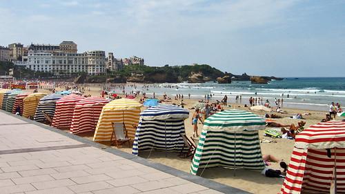 Biarritz. Playa