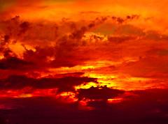 """Living in a colorful world (Sina Farhat) Tags: blue light sunset red sky orange sun colour sol colors canon göteborg fire raw with sweden himmel sverige med johan järntorget solnedgång blå eld 031 röd färger ljus gothenborg primelens 50d lund"""" canon50mm14usm lightroom3 """"photowalk """"fotopromenad"""
