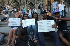 Germany - International Day of Action Against Wars on Africa and African People - August 20, 2011 (uhurunews) Tags: germany aug20 internationaldayofaction blackisbackcoalition