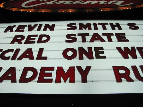 RED STATE at the new beverly cinema