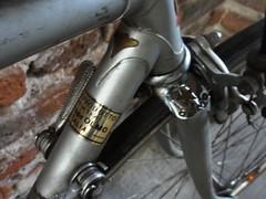 GIUSEPPE OLMO DECAL (coventryeagle48) Tags: columbus italy vintage italia corsa olmo campagnolo velital