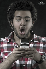 WooooW .. !! (Meshari Al-dosari .. ) Tags: portrait man canon photography photo blackberry 7d      meshari    aldosari