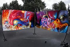 RIOT_STARTER (BREakONE) Tags: black painting de effects graffiti riot break starter live character board graffity colored rooster galo barcelos cfs 2011 breakone gsby