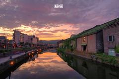 Twilight of Otaru (Kim.Sin) Tags: japan landscape hokkaido honeymoon  otaru  2011 kimsin flickraward flickrbronzeaward flickrsilveraward flickraward5 flickrglodaward