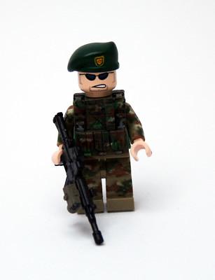 Custom minifig Off to Afghanistan!