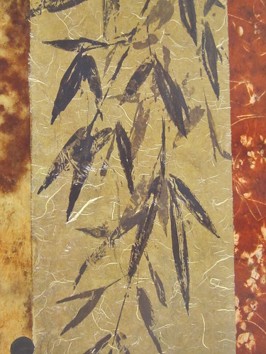 Bamboo Design on Handmade Paper