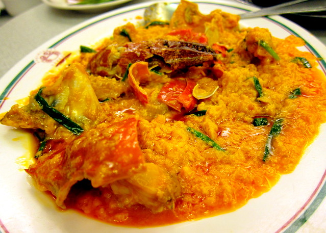 Curry Crab
