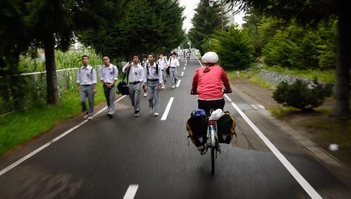 Shiroishi Cycling Road, Sapporo, Hokkaido, Japan