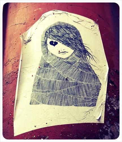 Valencia street art painting