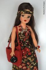 Trendy Girl going retro (Blackberry Pie Designs) Tags: girl ooak trendy sindy