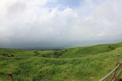 阿蘇の山並み
