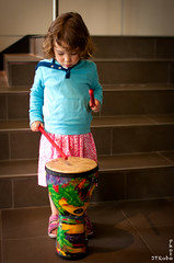 Aspiring Percussionist (JTRoboPhoto) Tags: