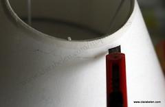 Reciclar una pantalla de lampara estropeada con pajitas o canutillos de plastico-_etnico (14)